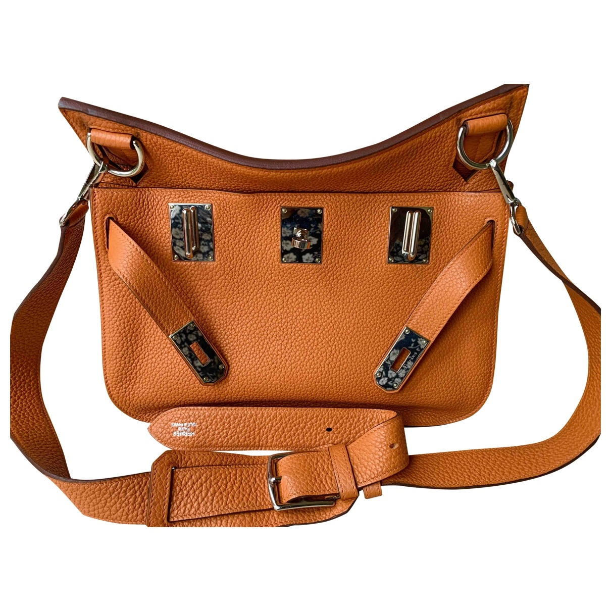 Hermès Jypsiere Orange Leather handbag for Women \N