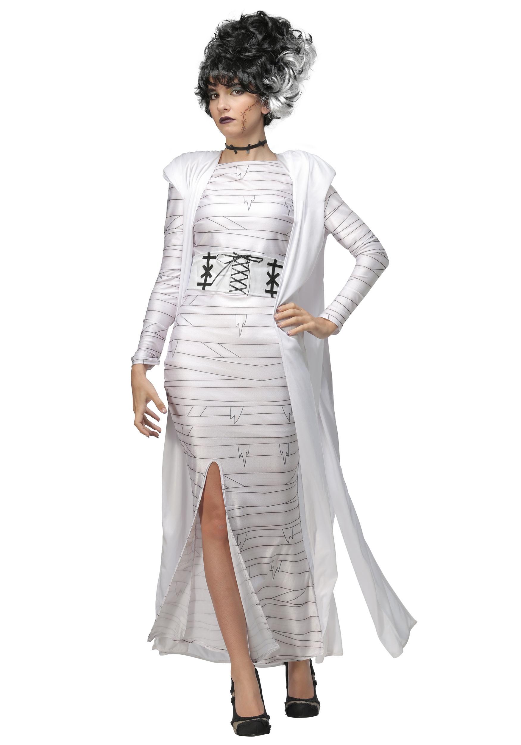 Women's Bride of Frankenstein Plus Size Costume