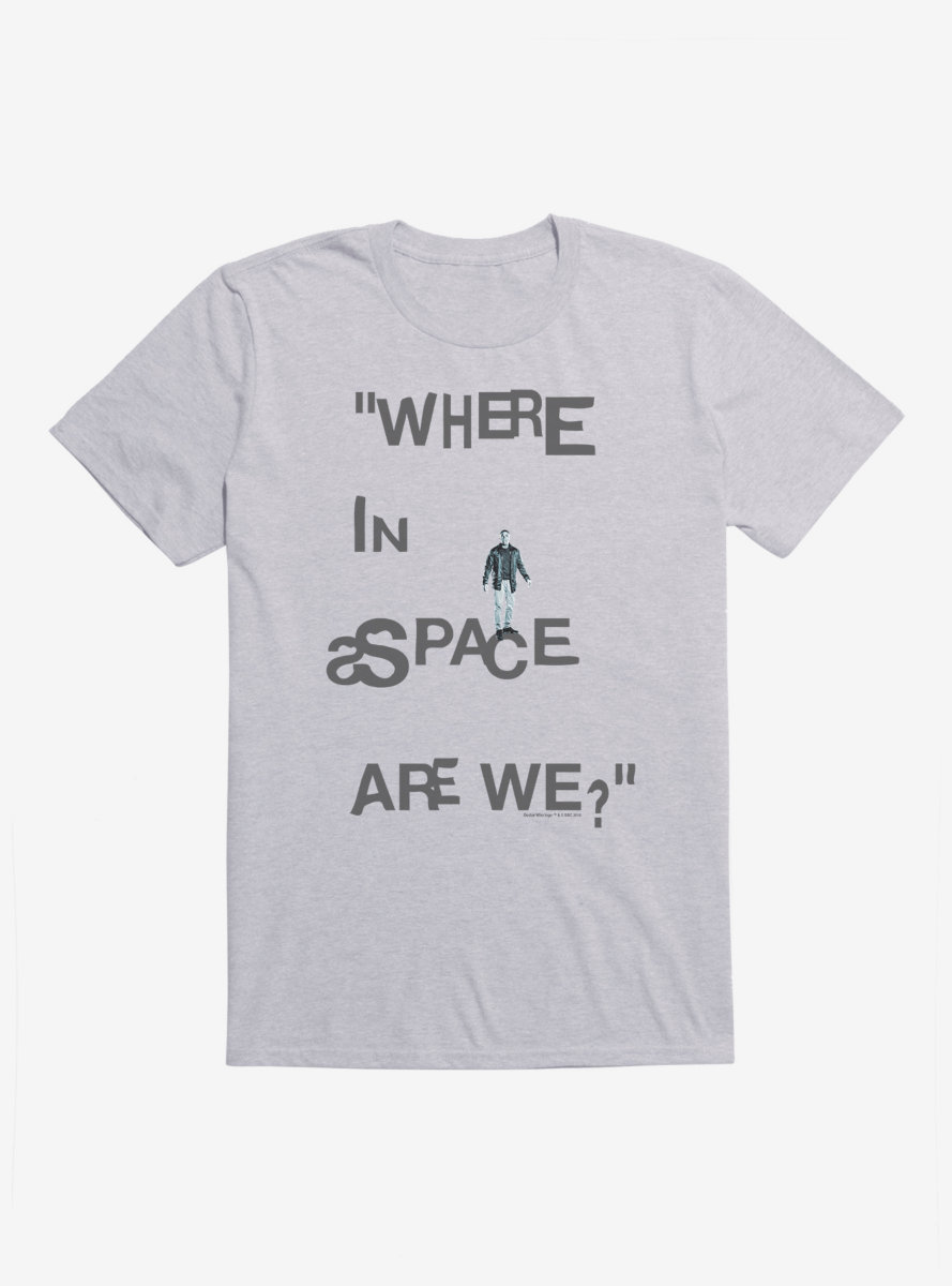 Doctor Who Thirteenth Doctor Ryan Lost In Space T-Shirt