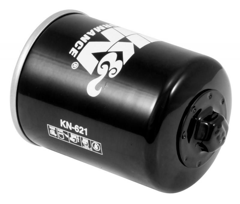 K&N KN-621 Oil Filter Arctic Cat -L --Cyl