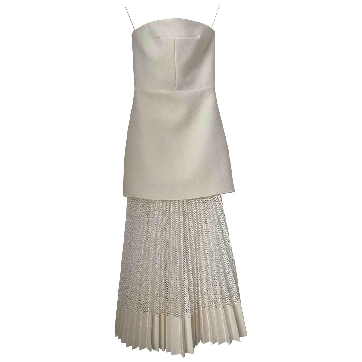 Dion Lee \N Kleid in  Weiss Polyester