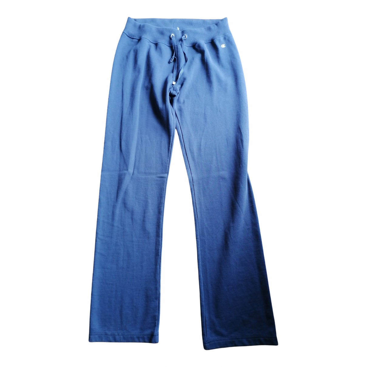 Champion \N Blue Cotton Trousers for Women S International