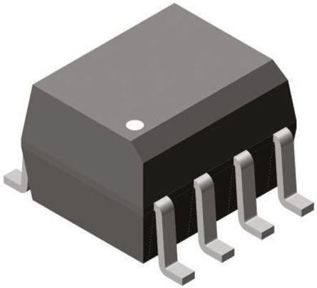 Vishay , ILD256T AC Input Phototransistor Output Dual Optocoupler, Surface Mount, 8-Pin SOIC (10)