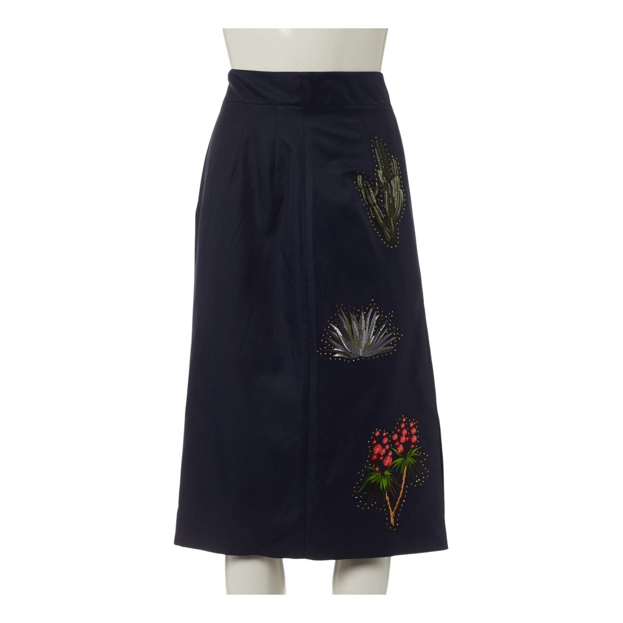 Stella Mccartney N Navy skirt for Women 38 IT