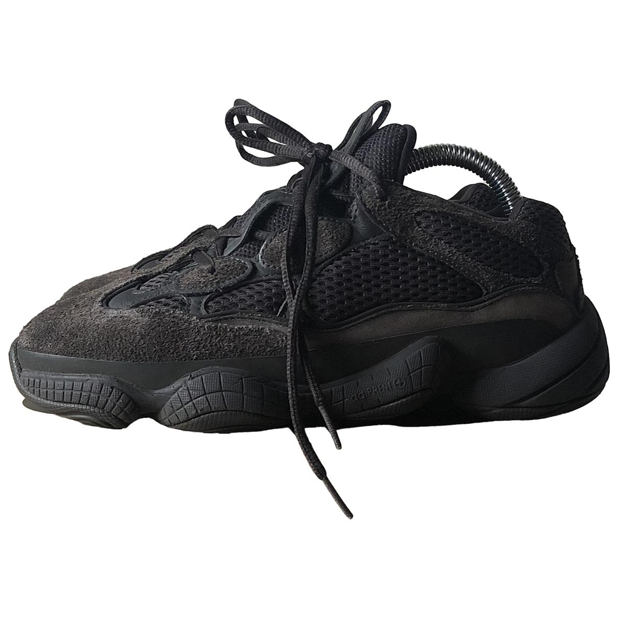 Yeezy X Adidas - Baskets 500 pour femme en suede - noir
