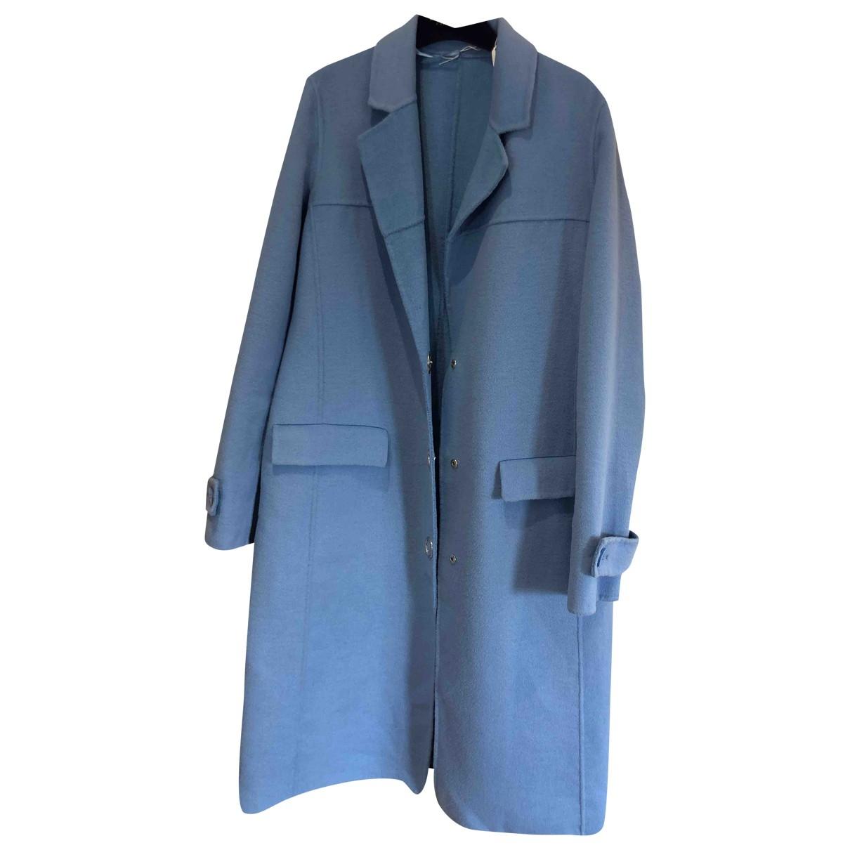 Pinko \N Maentel in  Blau Wolle