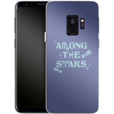 Samsung Galaxy S9 Silikon Handyhuelle - Among The Stars von caseable Designs