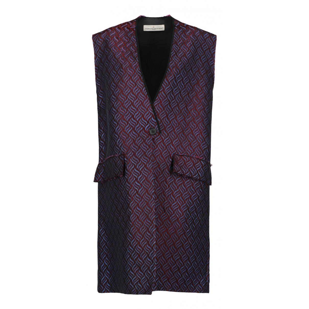 Golden Goose N Burgundy Cotton jacket for Women S International
