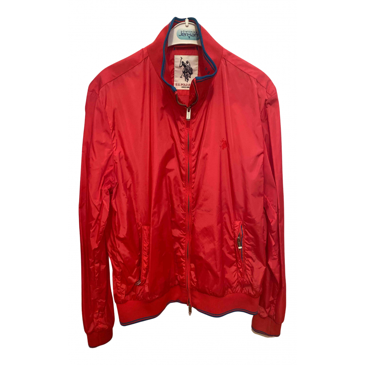 Non Signe / Unsigned \N Jacke in  Rot Synthetik