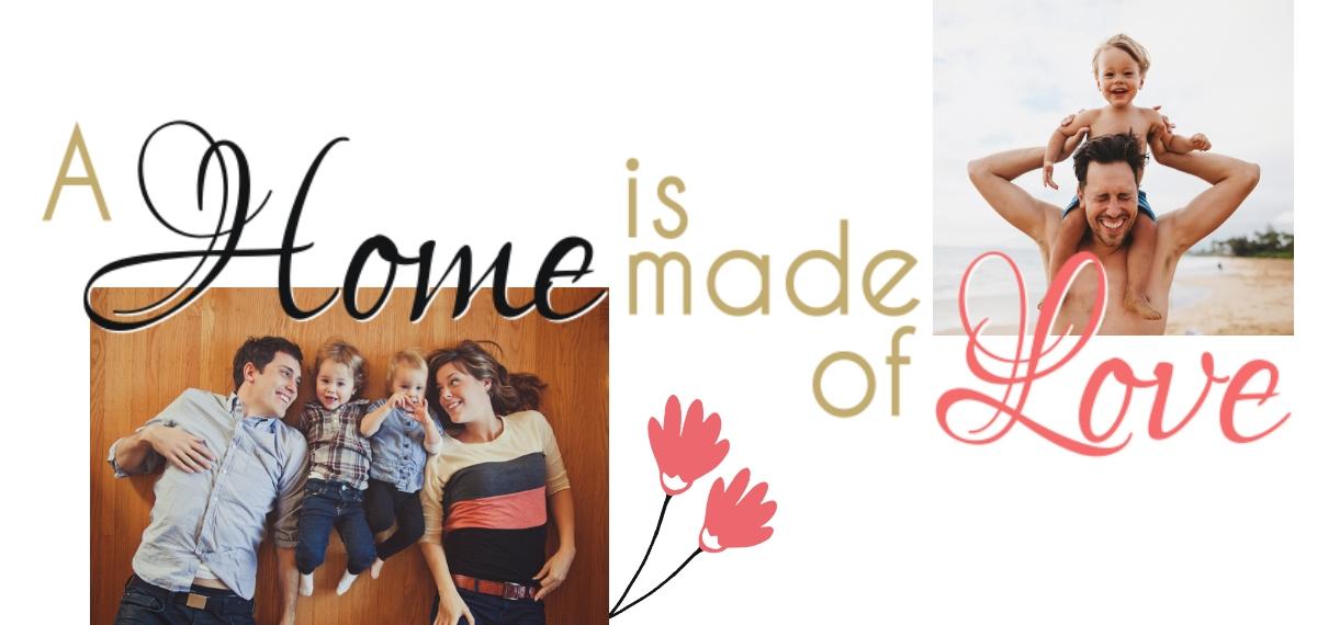 Love 11 oz. Light Blue Accent Mug, Gift -Home Is Love