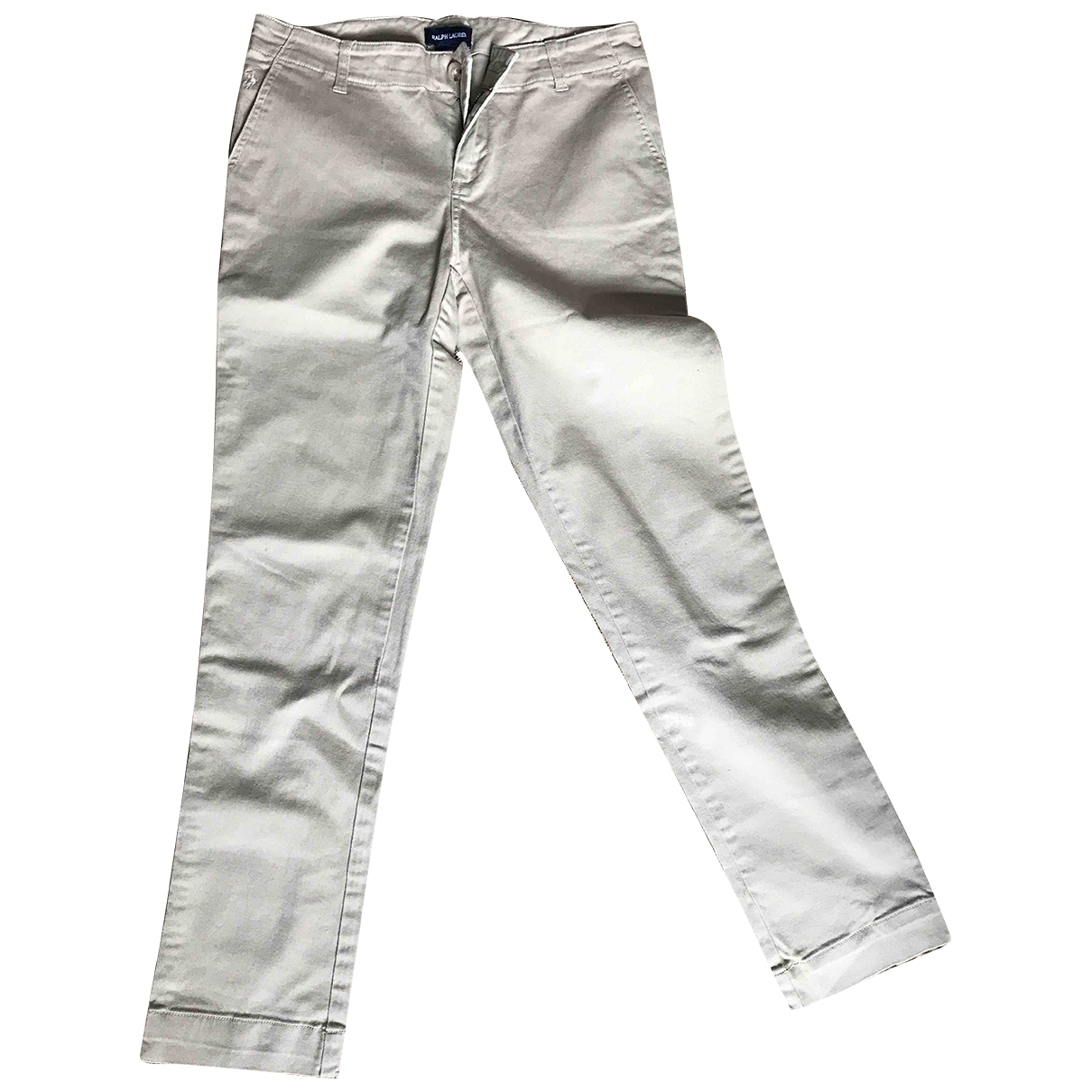 Ralph Lauren - Pantalon   pour enfant en elasthane - beige