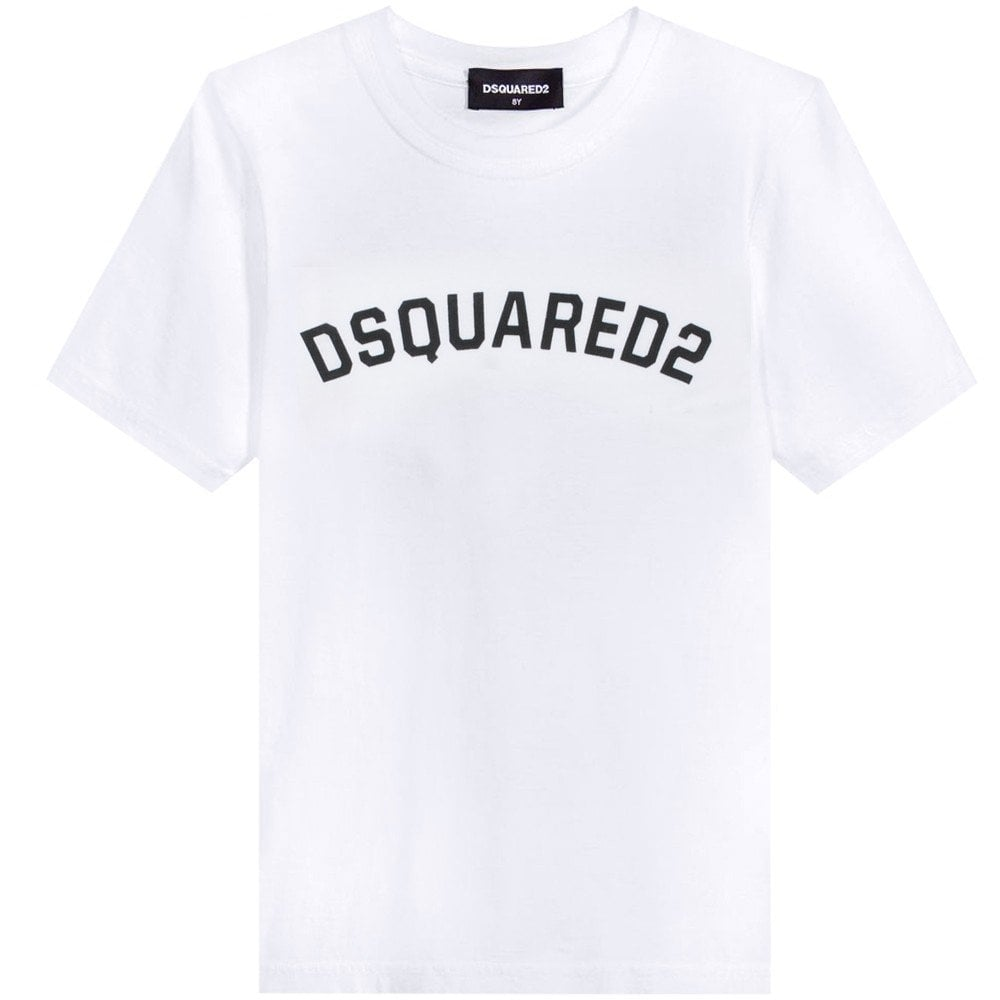 Dsquared2 Kids T-Shirt Colour: WHITE, Size: 6 YEARS
