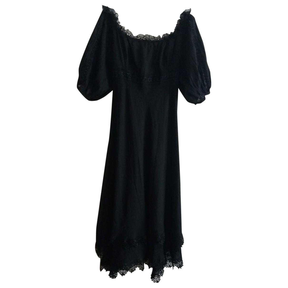 Charo Ruiz - Robe   pour femme en coton - noir