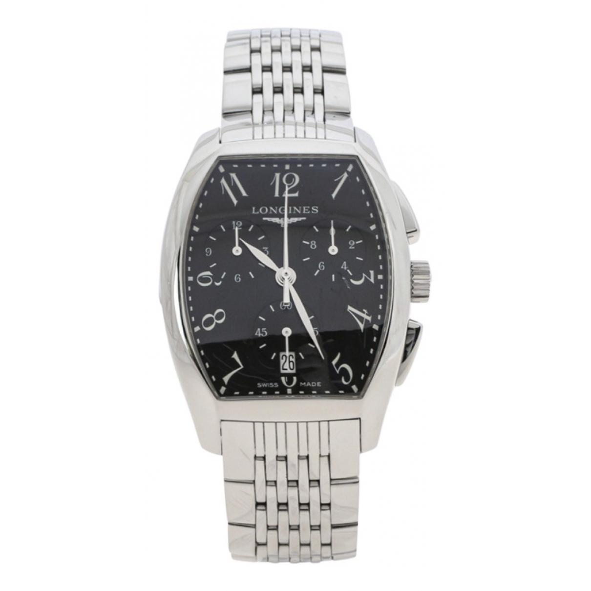 Longines Evidenza Black Steel watch for Men N