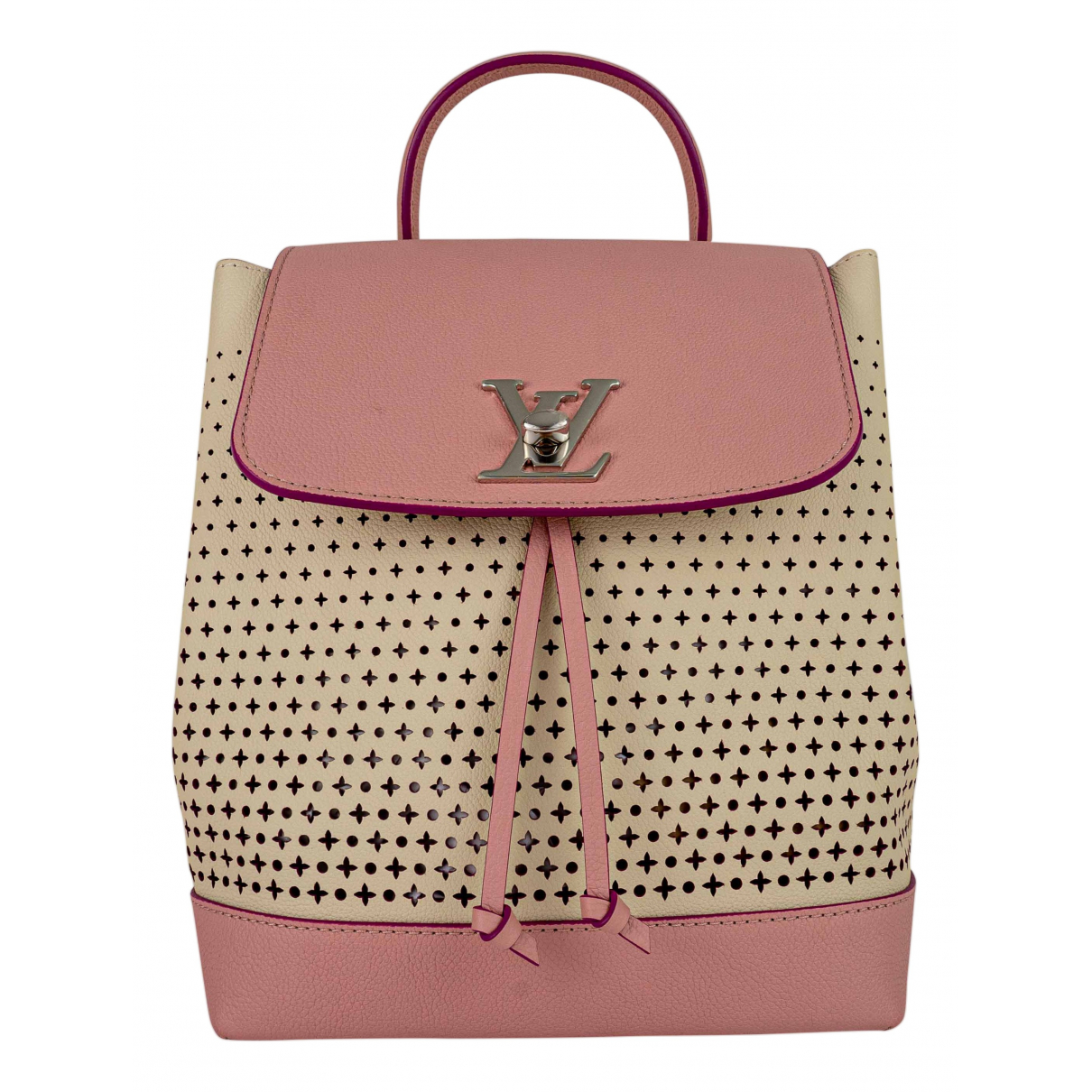 Louis Vuitton Lockme Beige Leather backpack for Women \N