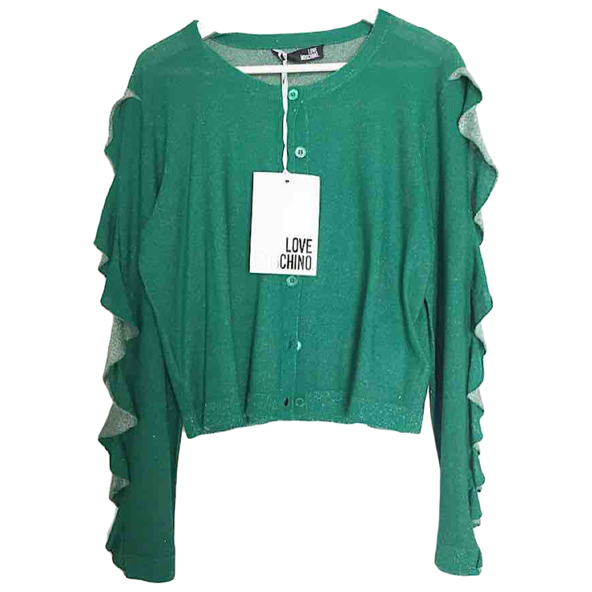 Moschino Love - Pull   pour femme - vert