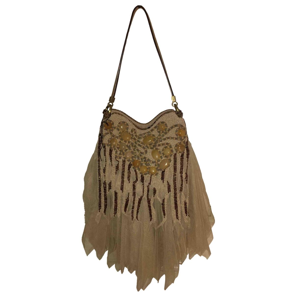 Jamin Puech \N Beige Glitter handbag for Women \N