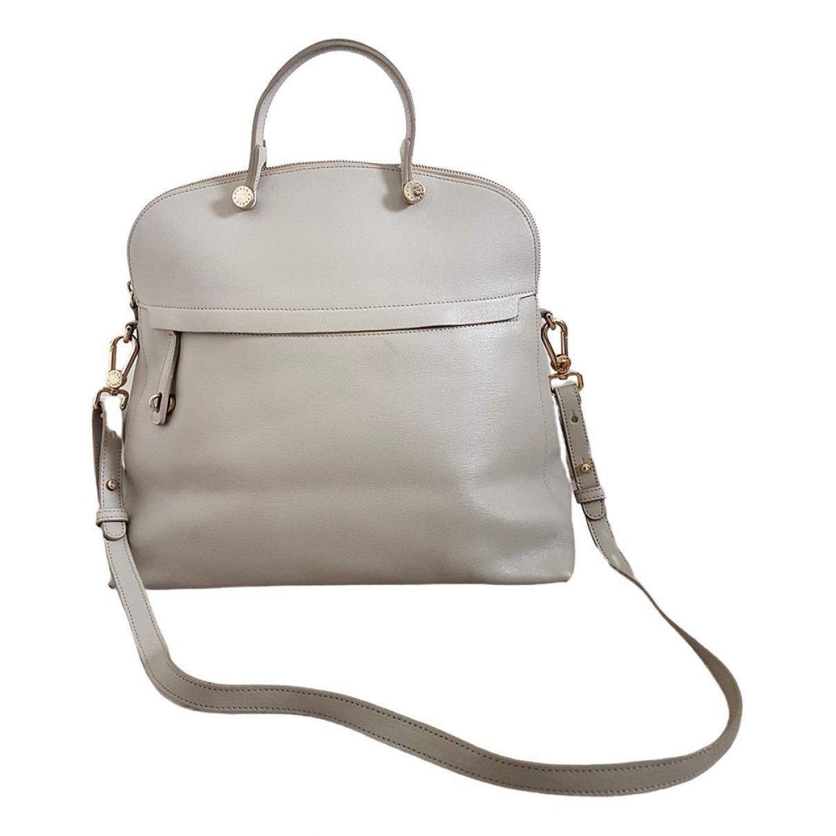 Furla - Sac a main Candy Bag pour femme en cuir - gris