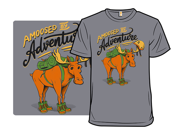 Amoosed By Adventure T Shirt