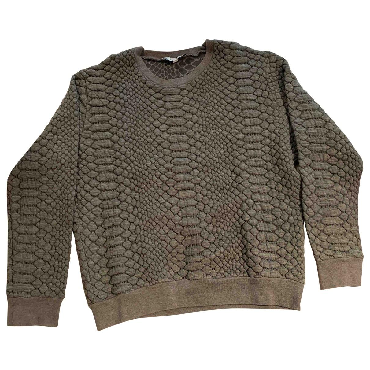 Sandro \N Pullover in  Grau Baumwolle