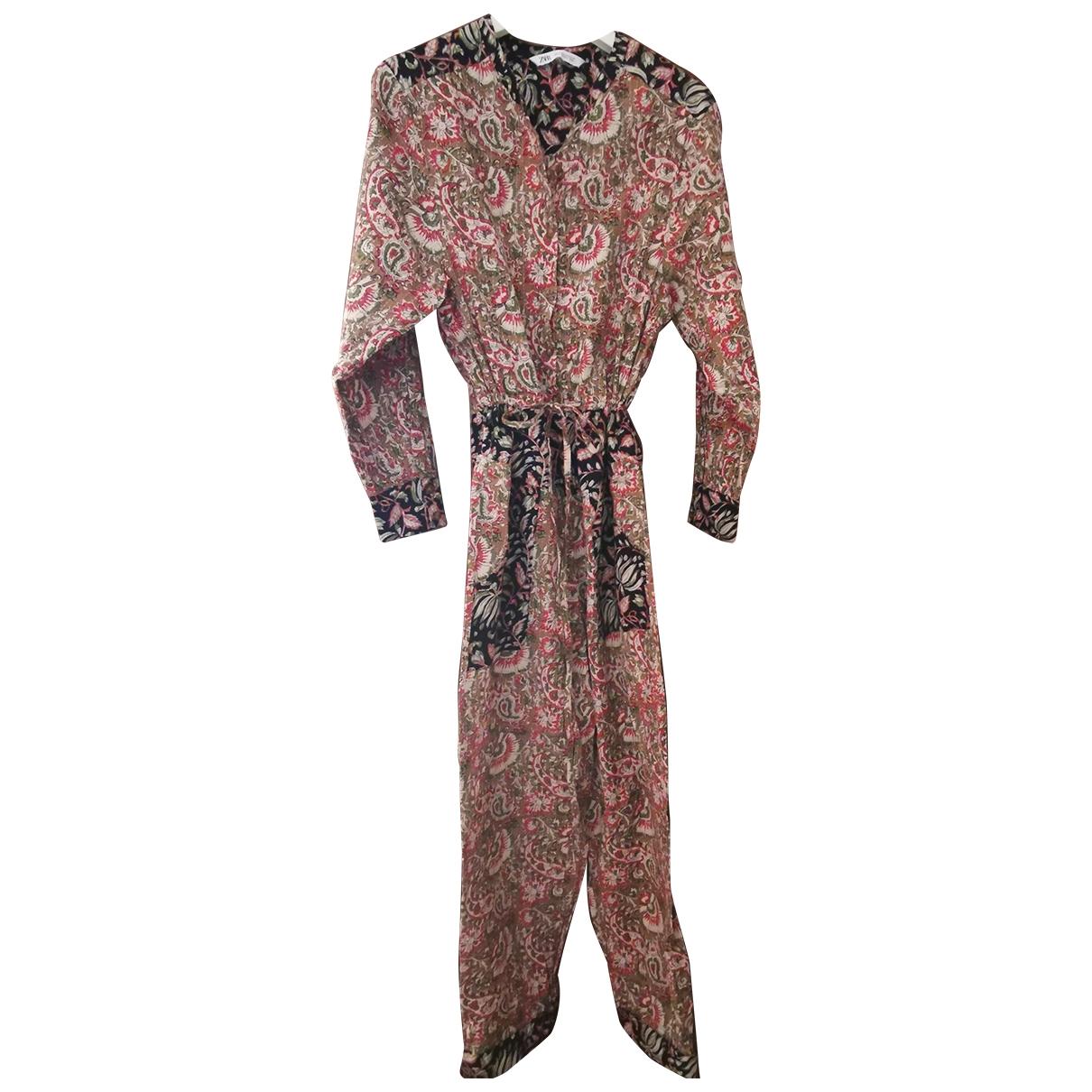 Zara \N Multicolour Cotton jumpsuit for Women 38 IT