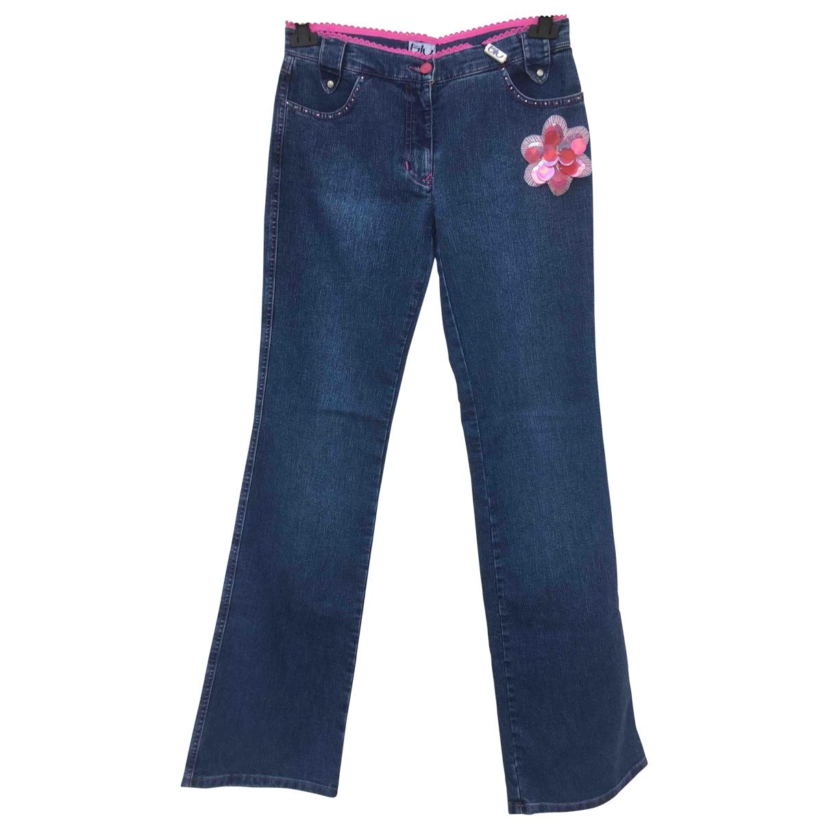 Byblos \N Blue Denim - Jeans Jeans for Women 28 US