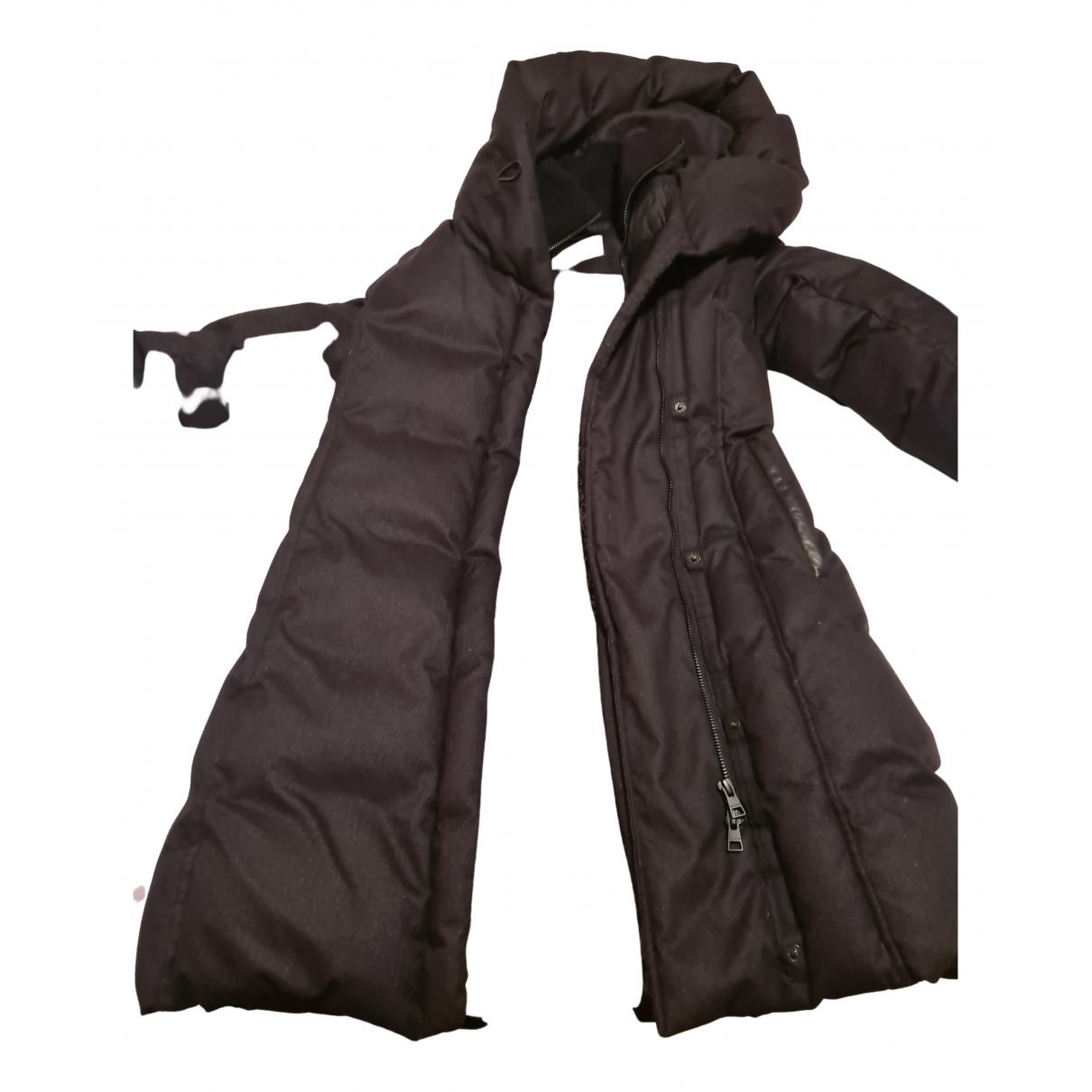 Soia & Kyo - Manteau   pour femme en coton - noir