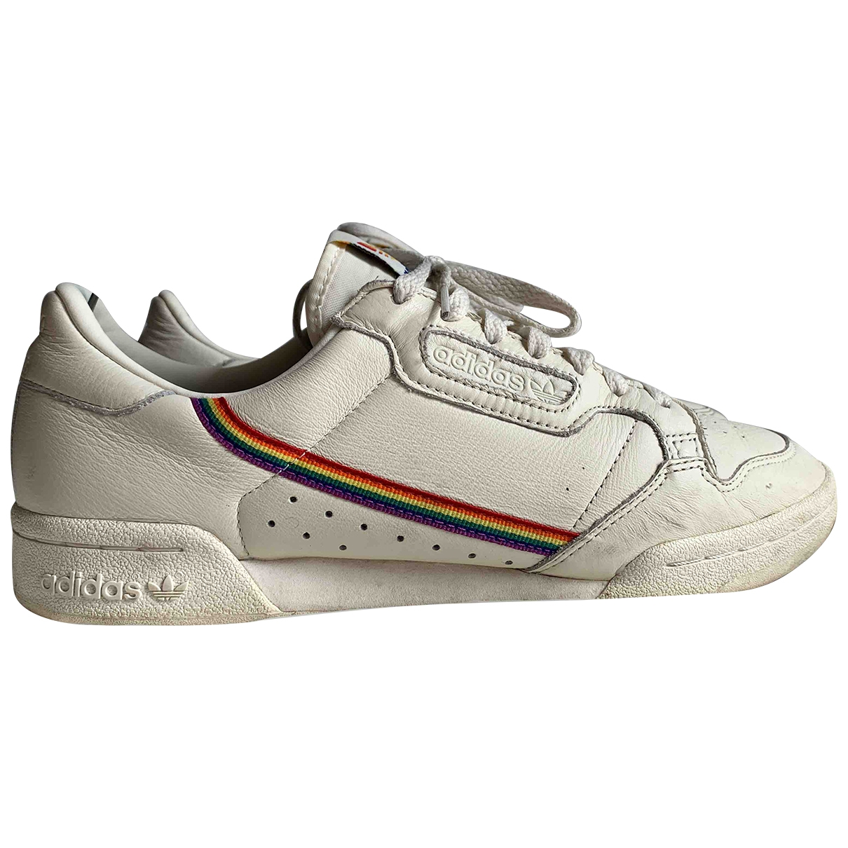 Adidas \N Multicolour Leather Trainers for Men 43.5 EU