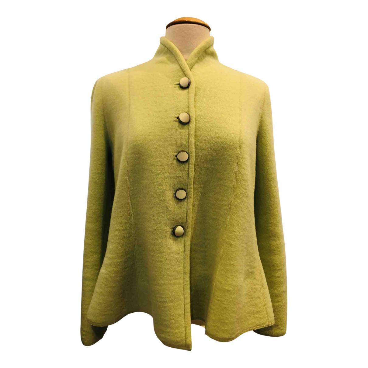 Giorgio Armani - Veste   pour femme en laine - vert