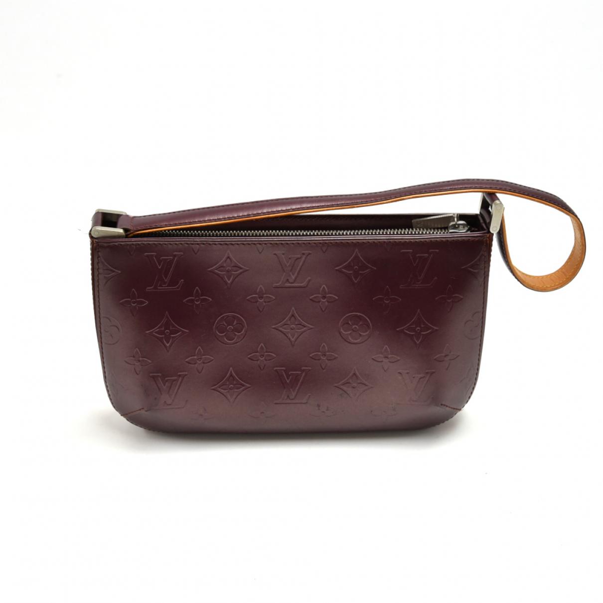 Louis Vuitton Fowler  Handtasche in  Lila Leder