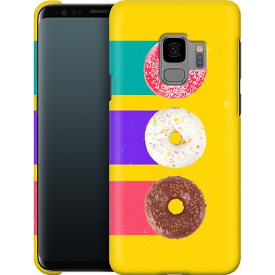 Samsung Galaxy S9 Smartphone Huelle - Donuts von Danny Ivan