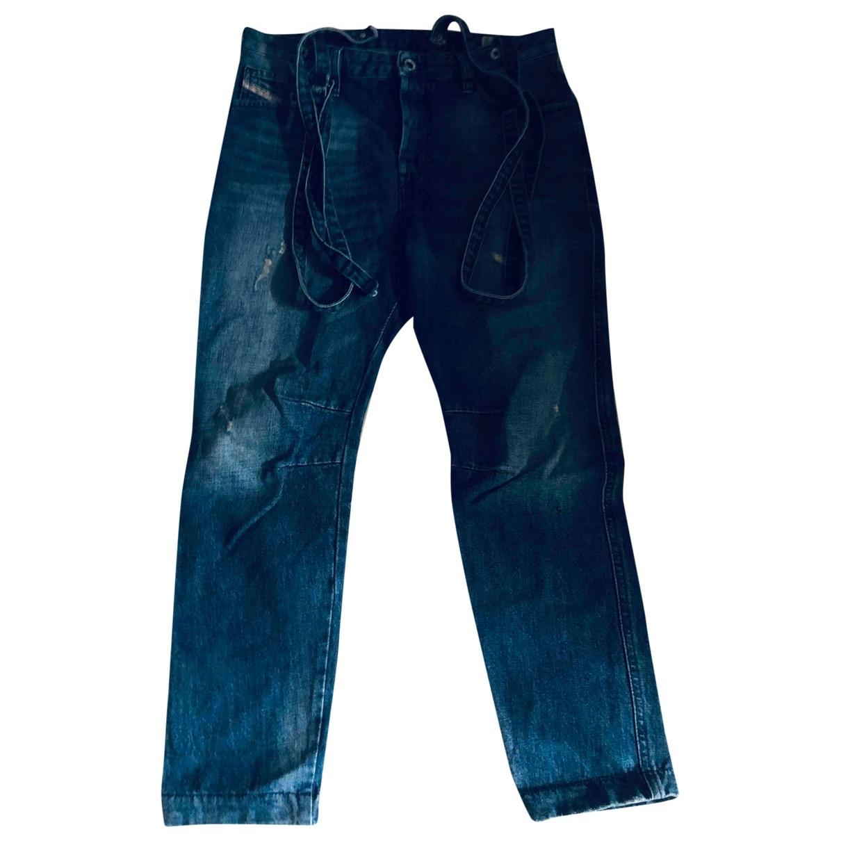Diesel - Jean   pour femme en denim