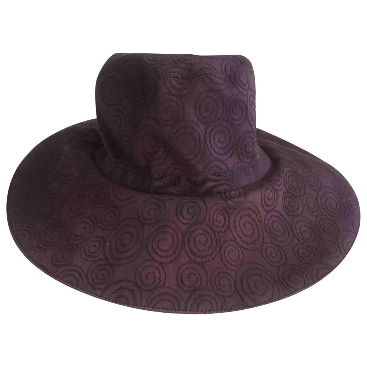 Paule Ka \N Purple Cotton hat for Women M International