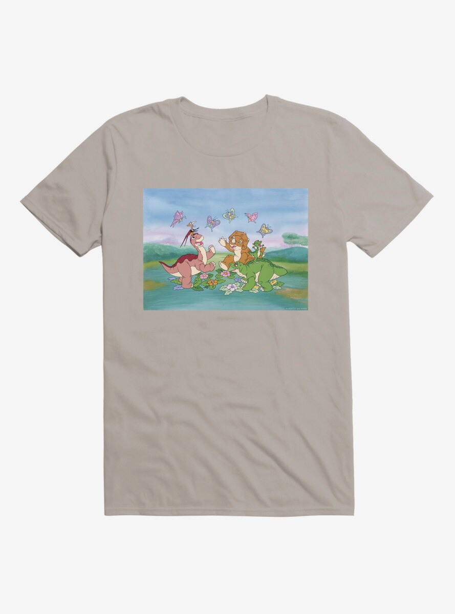 The Land Before Time Butterflies T-Shirt