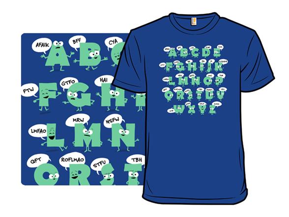 Alphabetical Abbreviations T Shirt