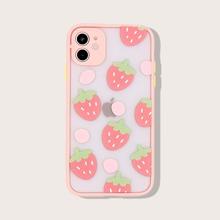 iPhone Schutzhuelle mit Erdbeere Muster