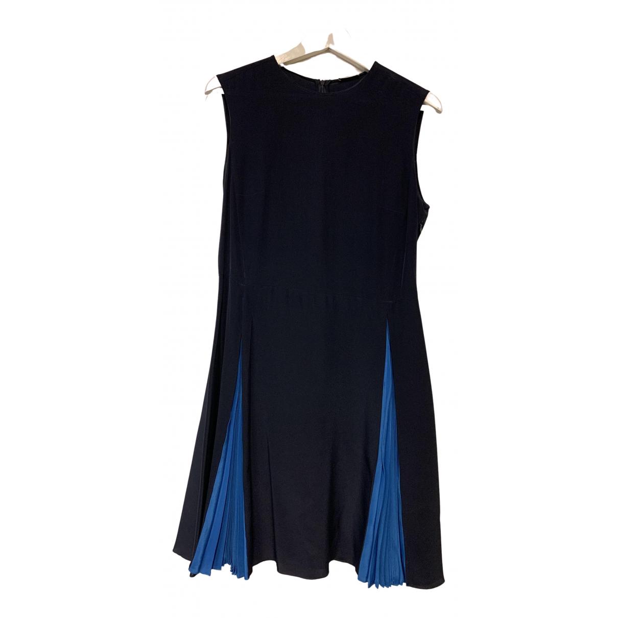 Miu Miu - Robe   pour femme en soie - bleu