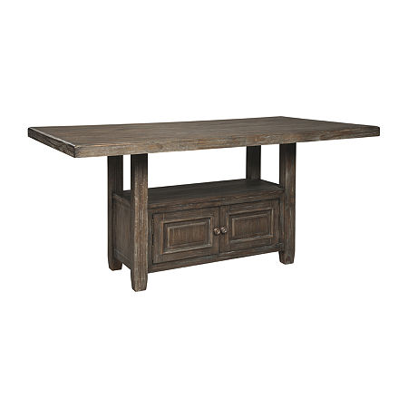 Signature Design by Ashley Wyndahl Dining Collection Rectangular Wood-Top Dining Table, One Size , Brown