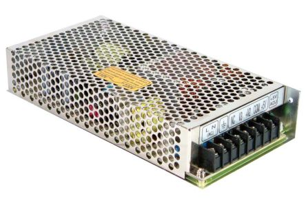 Mean Well , 124W Embedded Switch Mode Power Supply SMPS, 5 V dc, ±12 V dc, ±24 V dc, Enclosed