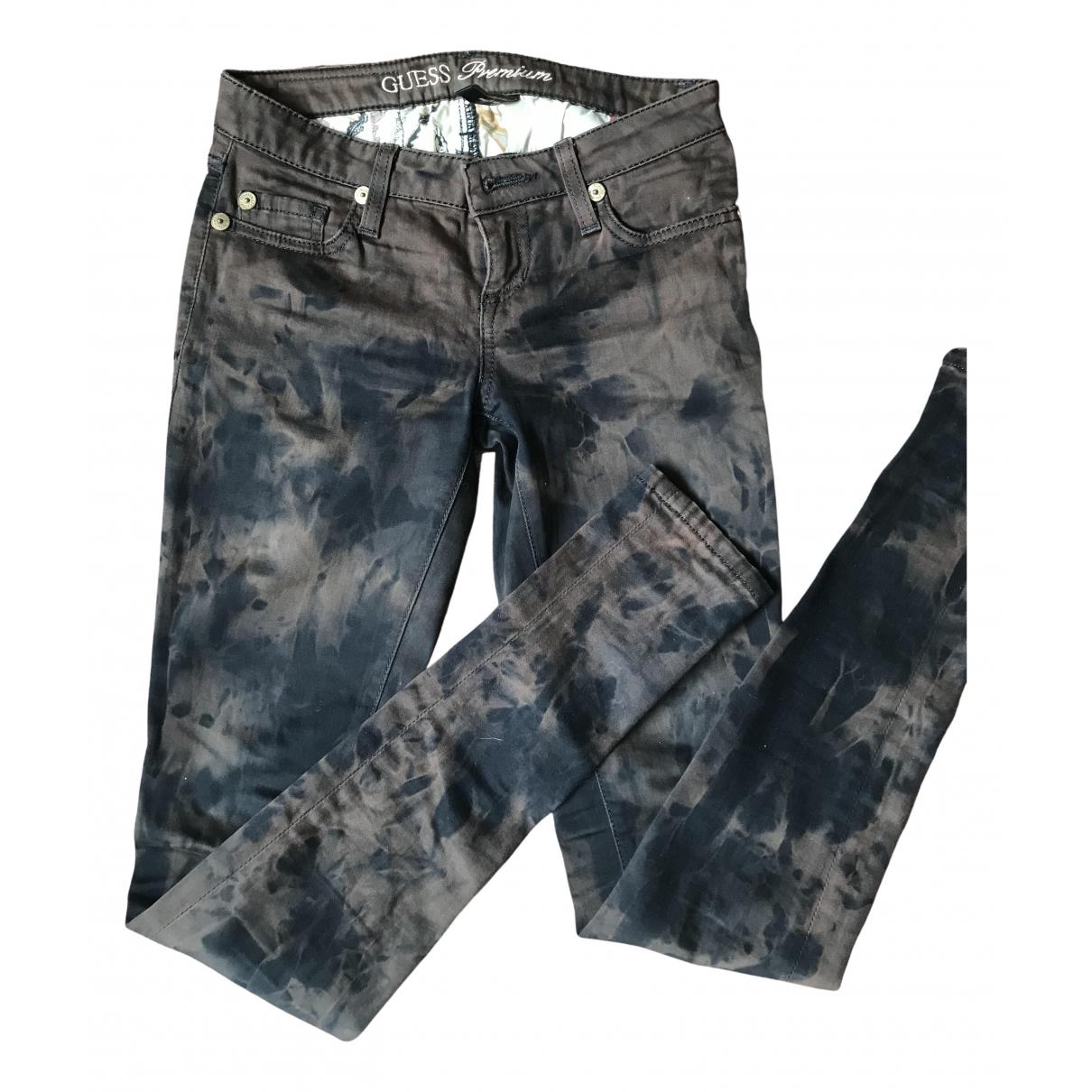 Guess \N Multicolour Denim - Jeans Jeans for Women 32 FR