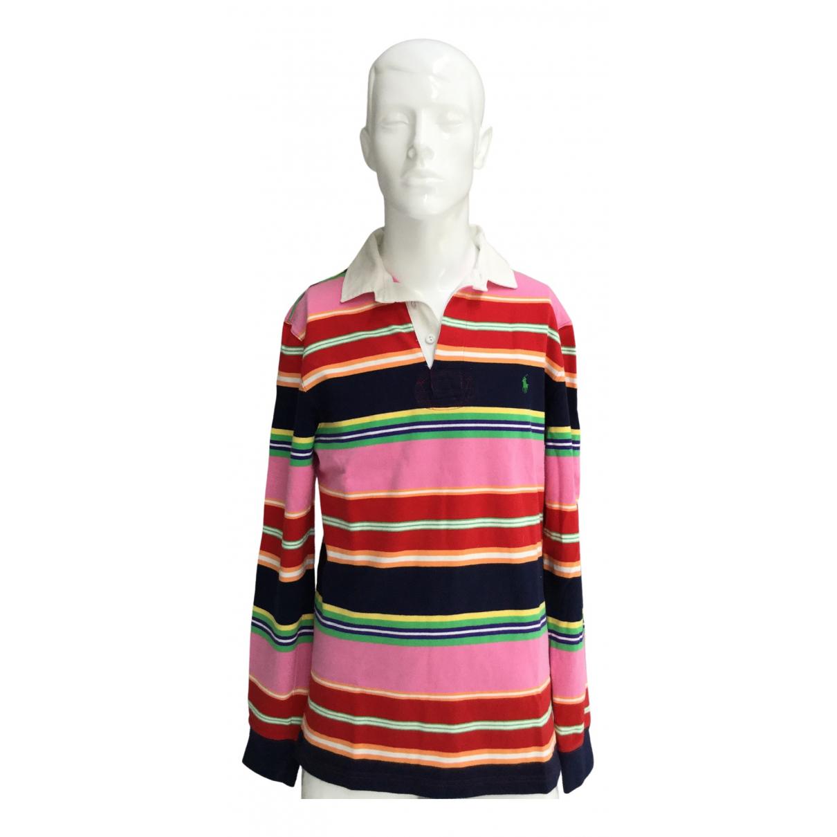 Polo Ralph Lauren - Polos Polo Rugby manches longues pour homme en coton - multicolore