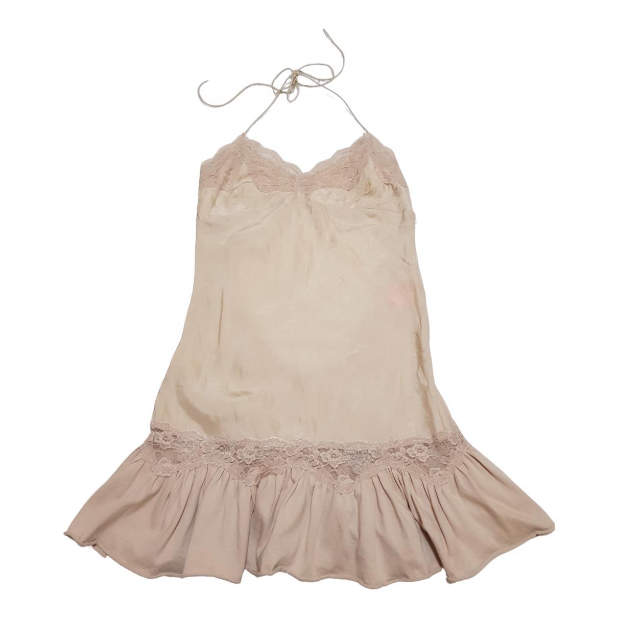 Manoush \N Kleid in  Rosa Seide