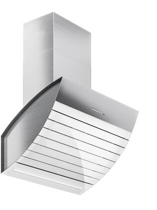 WL30SHADOW-WHT 30 Shadow Wall Hood with 940 CFM  4-Speed Electronic Controls  Delayed Shut-Off  and Filter Cleaning Reminder  in