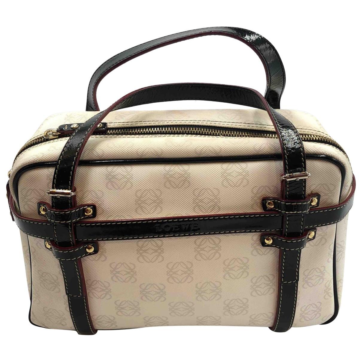 Loewe \N Handtasche in Leinen