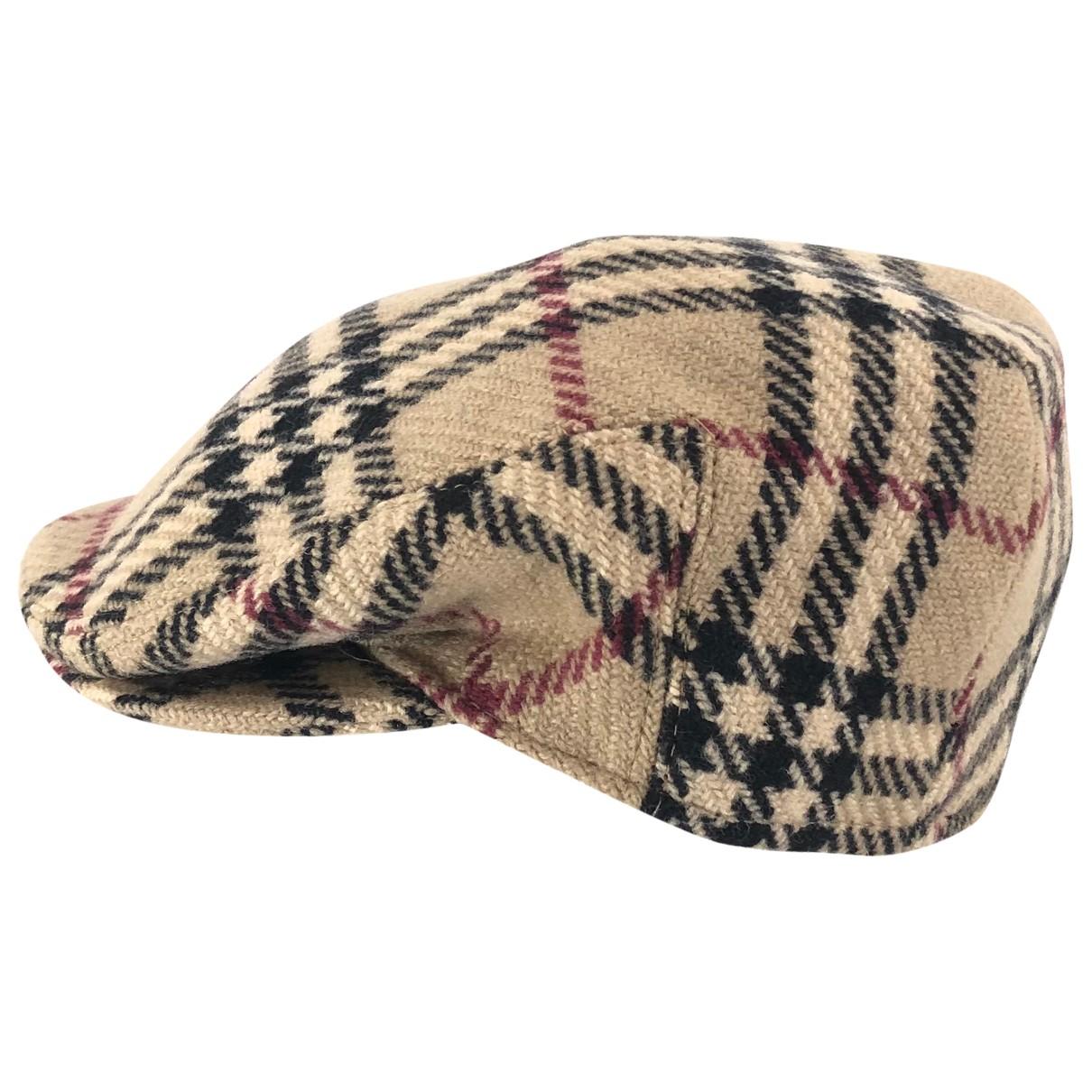 Burberry \N Hut, Muetzen in  Beige Wolle