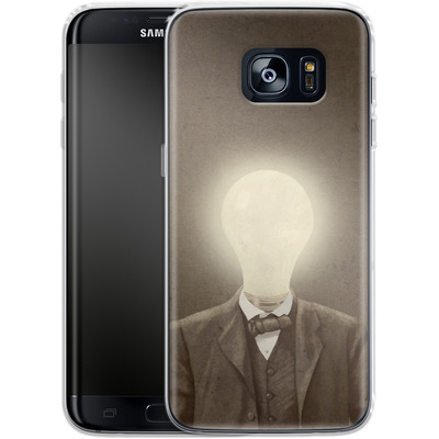Samsung Galaxy S7 Edge Silikon Handyhuelle - The Idea Man von Terry Fan