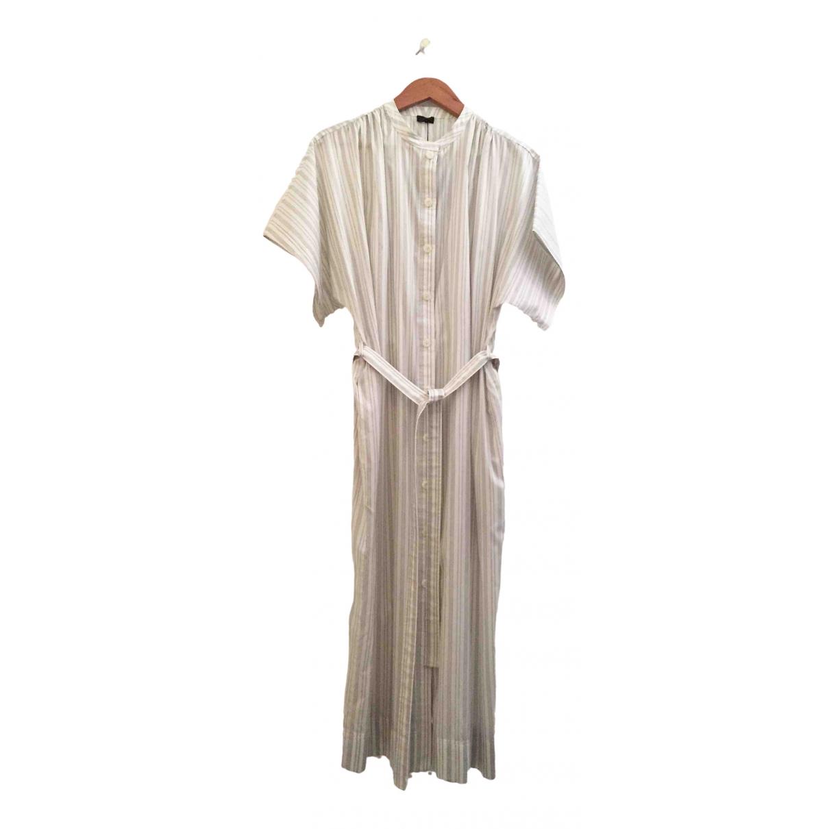 Joseph \N Kleid in  Weiss Seide