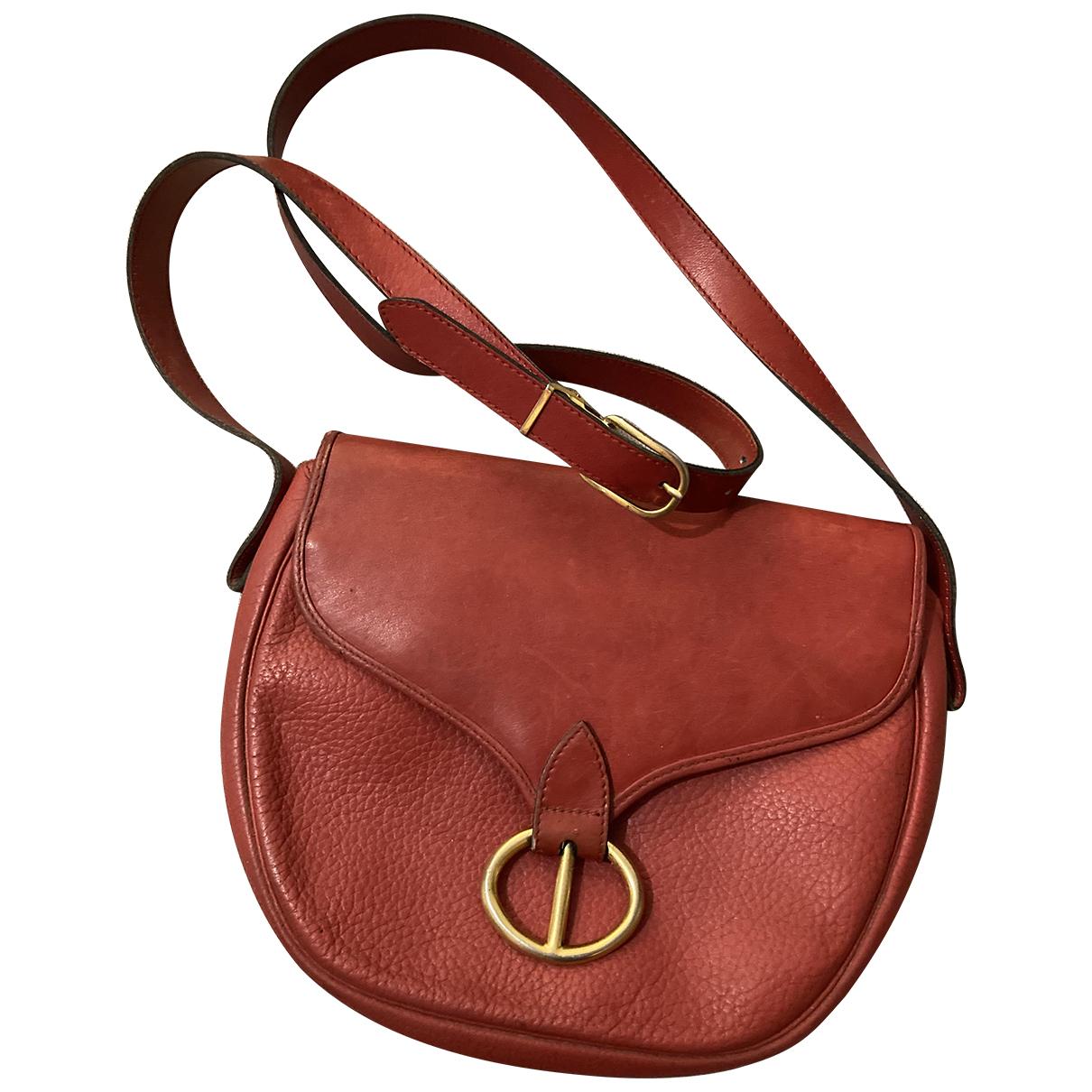 Dior N Red Leather handbag for Women N