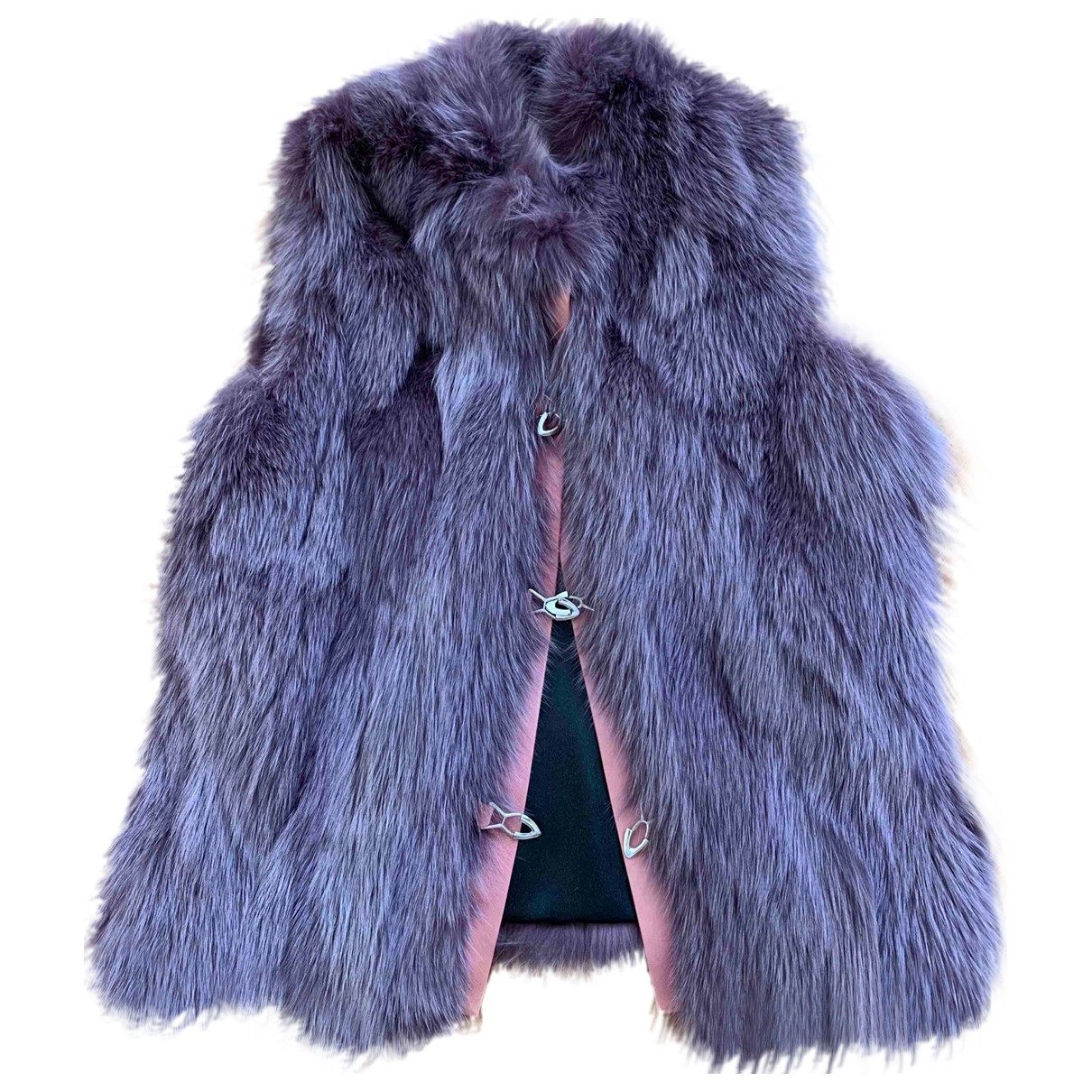 Non Signé / Unsigned \N Fox jacket for Women S International