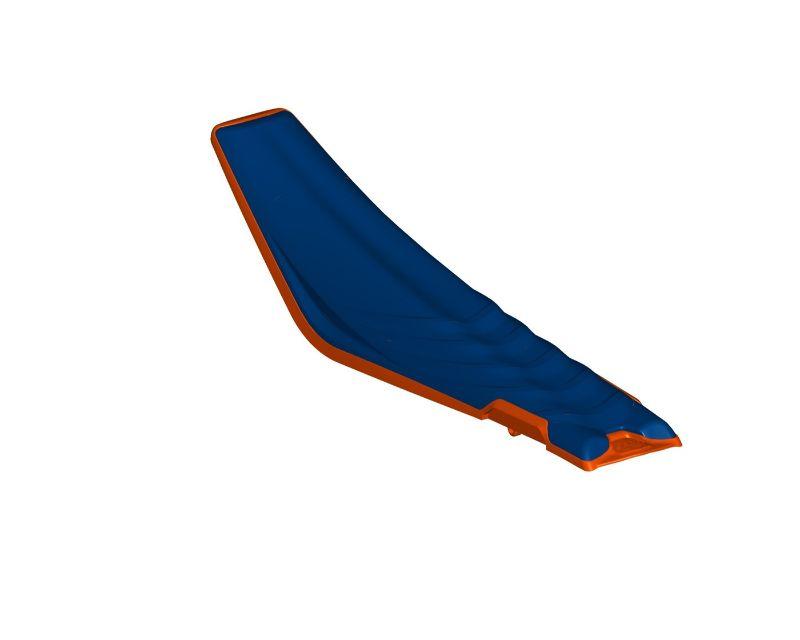 Acerbis 2732170085 X-Seat Single Piece Blue/Orange KTM SX125 19-20